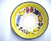 1940's Della Ware Dellaware Festival Pattern Bowl Well Marked