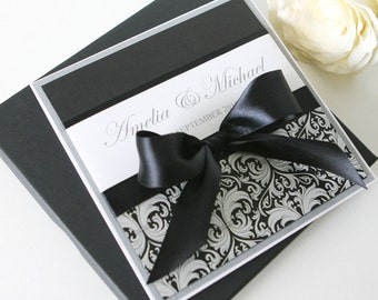 Wedding Invitation - The 'Angelina'