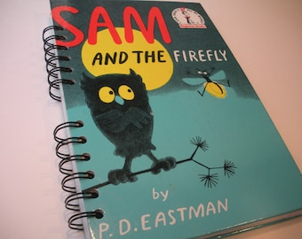 Sam and the Firefly Dr. Seuss Beginner Books Recycled Journal Notebook