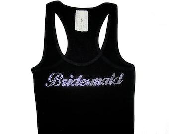 Bridesmaid Tank Top, Bridesmaid Shirts, Will You Be My Bridesmaid, Bridesmaid Gifts, Bachelorette Party Shirts, Bride Shirt, Bride Gift