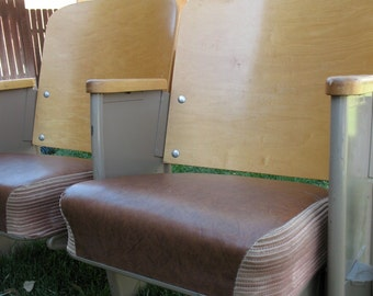 Mid Century Theater Seating for Two