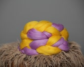 Ready to ship-NEW-unique posing twist mini-yellow and lavender-newborn photography-photo prop