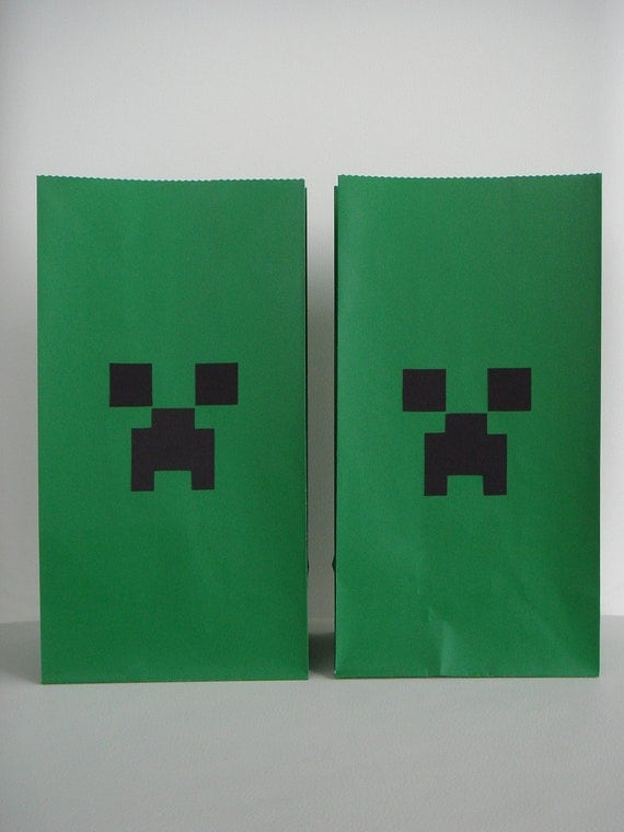 Minecraft Loot Bags Favor Treat Set Source Abuse Report