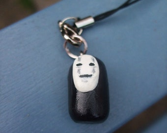No face Spirited away phone charm