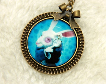 Necklace rabbit, alice2525C