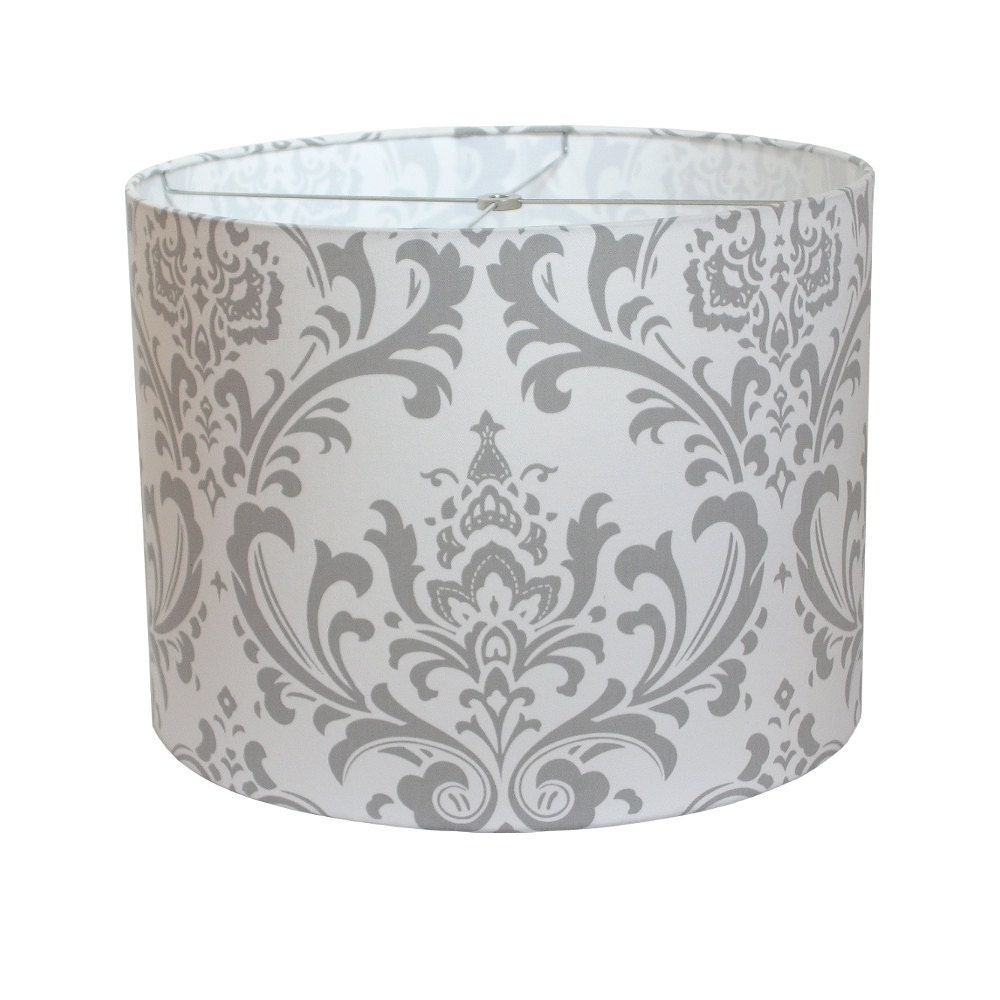 lamp shade lampshade traditions by premier prints storm gray. Black Bedroom Furniture Sets. Home Design Ideas