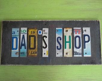 Custom Made Shop Sign