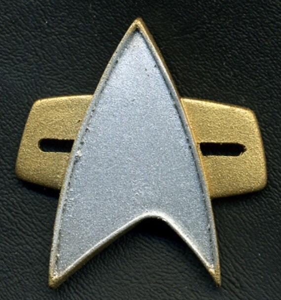 Star Trek Voyager / 1st Contact Communicator Comm Badge