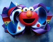 Happy Elmo Bows for Stephanie