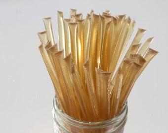 Honey Sticks Pure Wildflower Honey -100 Honey Filled Sticks. Great for Honey Wedding Favor