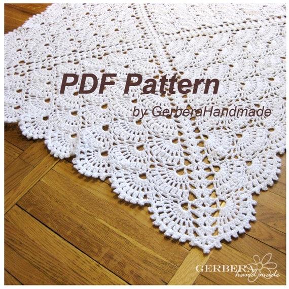 Crochet Pattern Baby Blanket Handmade Tutorial by ...
