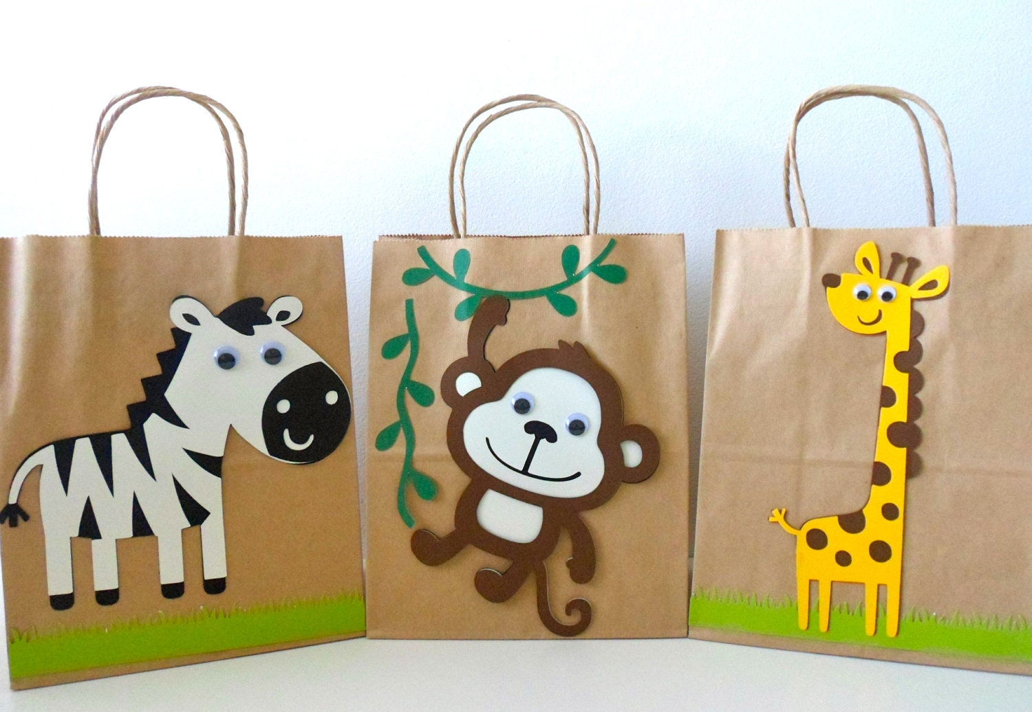 Jungle Themed Baby Gifts Uk : Safari goodie bag