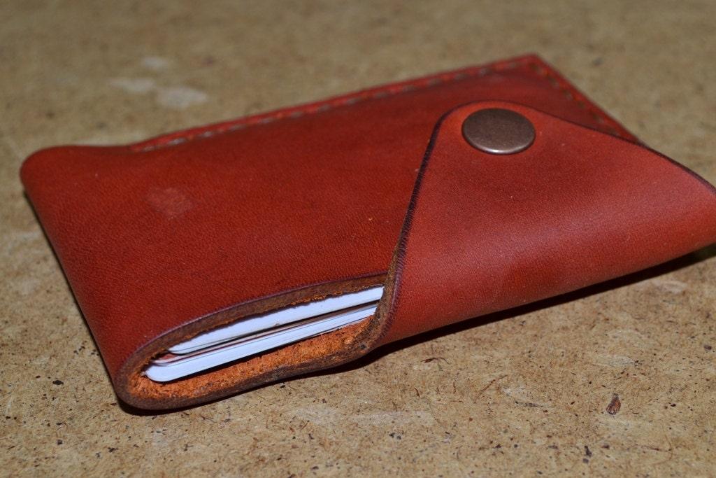 Leather Wallet Men Wallet Leather Card Holder Leather Handmade