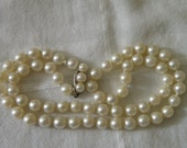 Lovely Pearl Necklace with 14K Gold Clasp - 16 inch