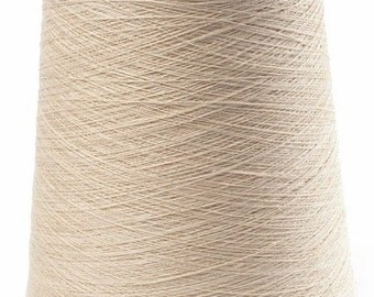 1kg/35oz 100% LINEN YARN, Cream Linen Yarns, high quality linen yarn