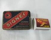 Signet aromatic tobacco tin