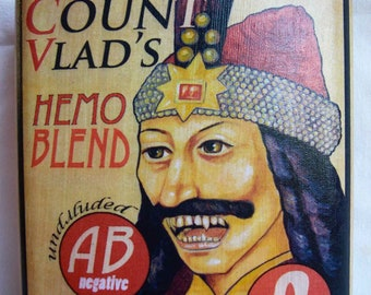 Hip Flask - Count Vlad -FREE SHIPPING