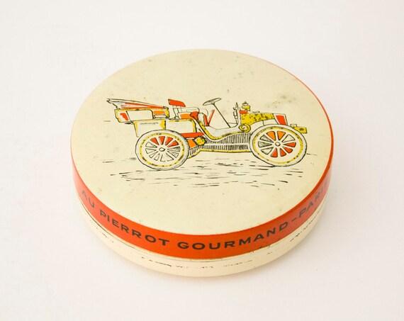 Vintage Tin Box Au Petit Gourmand Paris