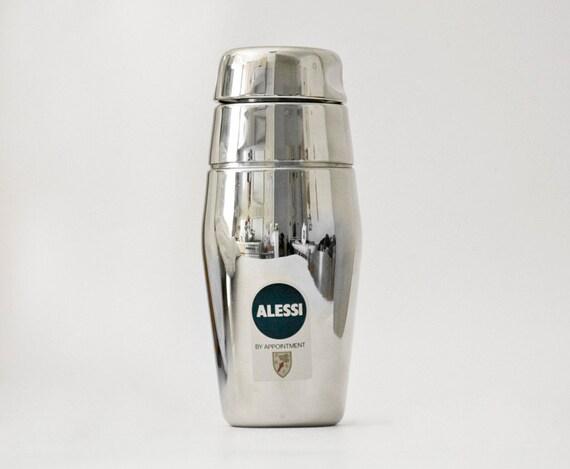 Italian Wonderfull Cocktail Shaker Alessi metal steel