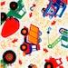 "61"" Long - Colorful Construction Fabric, LAst PIEcE"