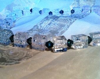 Ice Ice Baby Necklace Handmade Jewelry