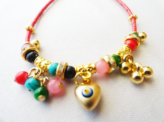 evil eye bracelet, authentic jewelry, ethnic jewelry, afghan jewelry, afghan bracelet, gifts for women, birthday present, birthday