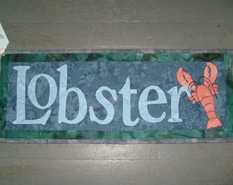 Lobster Wallhanging