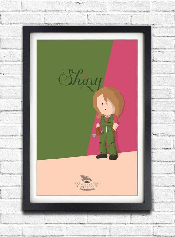 Firefly - Serenity - Kaywinnet Lee 'Kaylee' Frye - Jewel Staite - 17x11 Poster