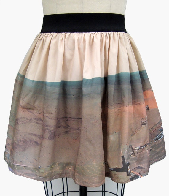 Mars Rover Panoramic Full Skirt