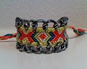 Boho Chain Embellished Friendship Bracelet
