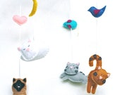 Kitty Cat Baby Mobile
