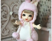 Bunny Outfit (Pink) For Lati Yellow or PukiFee