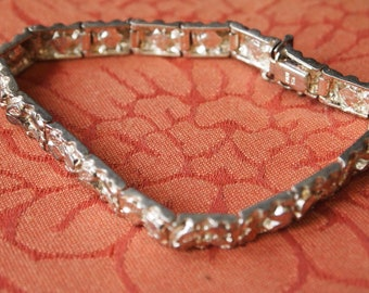 Amazing Vintage Italian Nugget Bracelet