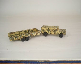 Wood Toy Car Camo, Army Truck, Wood Toy, Kids Toy, Wood Toy Truck,  Wooden Toy Truck,