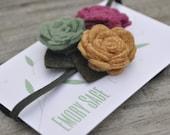 Custom Listing: Felt Flower Headband - For LovelyAnomaly