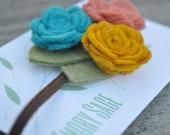 Custom Listing: Felt Flower Headband - For Taryn