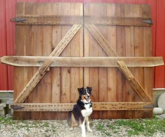 Over 100 Year Old Hay Loft Barn doors Mint by ...