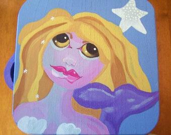 Mermaid Treasure Box-Cookie Box-Candy Box-Holiday Beach box