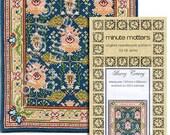 Dollhouse Carpet Pattern - Bovey Tracey (Arts & Crafts Style)