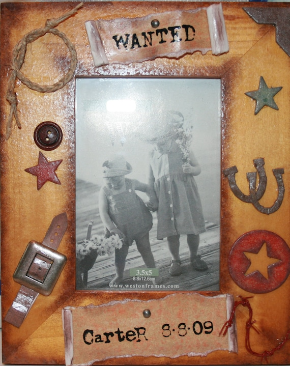 Western/Cowboy picture frame | Willow Creek Artworks