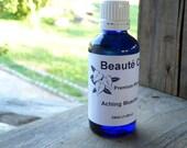 Natural Massage Oil - Aching Muscle Blend - Organic Masseuse Oil, 30ml