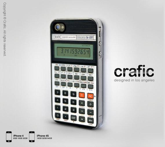 Retro Calculator iPhone 4 Case,Vintage Calculator iPhone 4S Case, Vintage iPhone 5 Case, Geek iPhone 5S Cover, Cool iPhone 5C Case