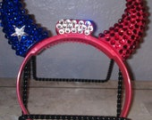 Houston Texans Bling Horns Headband