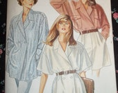 1980's NEW LOOK Tunic Pattern  Uncut and in Factory Folds