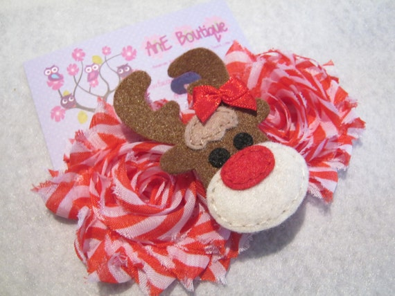 Christmas/ Holiday Hair Clips and Headbands
