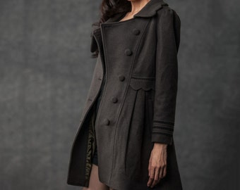 Winter Coat, coat, peacoat, winter coats for women, jacket, winter coats, mantel, womens clothing, womens coat, wool coat, wool jacket C382
