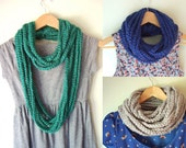 Chain Scarf Necklace .. C...