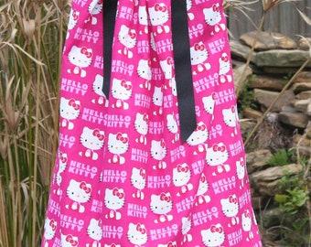 Boutique Pillowcase dress Featuring Hello Kitty Sizes 3 Months thru 6/7 :CH032