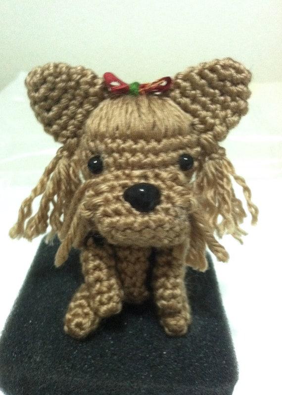 Amigurumi Crochet Yorkie : Amigurumi yorkie