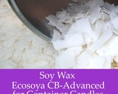 15 lbs. Soy Wax Flakes - Ecosoya Advanced- Premium All Natural Soy Wax for Candle Making